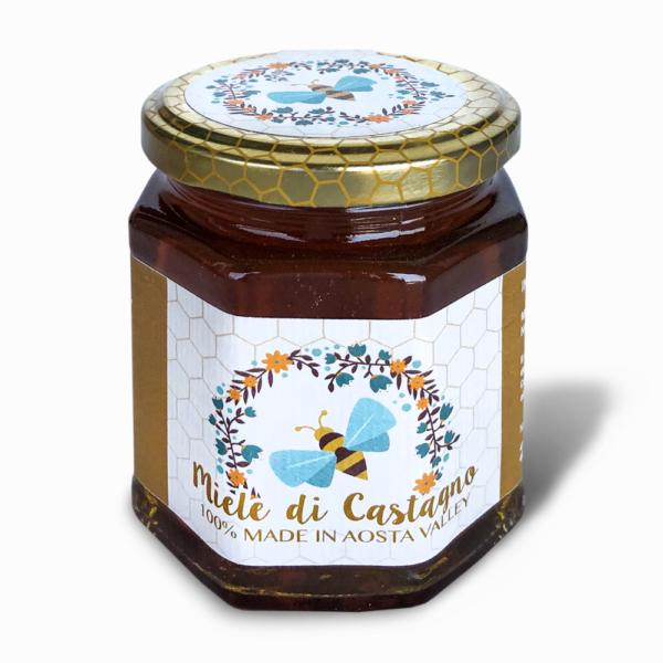 miele di castagno della valle d'aosta