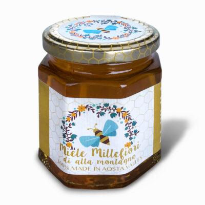 miele millefiori della valle d'aosta